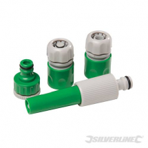 4 PCE HOSE KIT 3 HOSE TO TAP 1 SPRAY NOZZLE