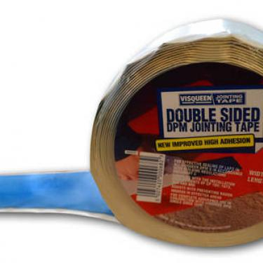 VISQUEEN DOUBLE SIDED MEMBRANE JOINTING TAPE 10M X 50MM