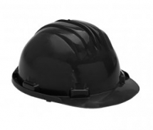 BLACK HARD HAT ST-50
