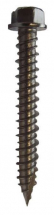 6.3 x 100mm A4 Stainless Steel Hex Head Gash Point Masonry Screw