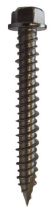 6.3 x 125mm A4 Stainless Steel Hex Head Gash Point Masonry Screw