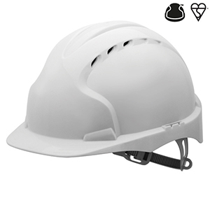 EVO 2 WHITE HARD HAT
